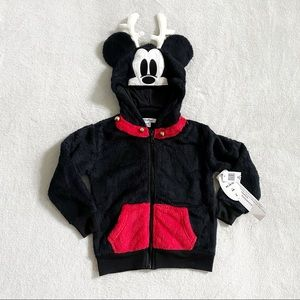 NWT Disney Parks Mickey reindeer sweater kids xs